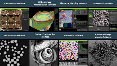 Software para Phenom Desktop SEM
